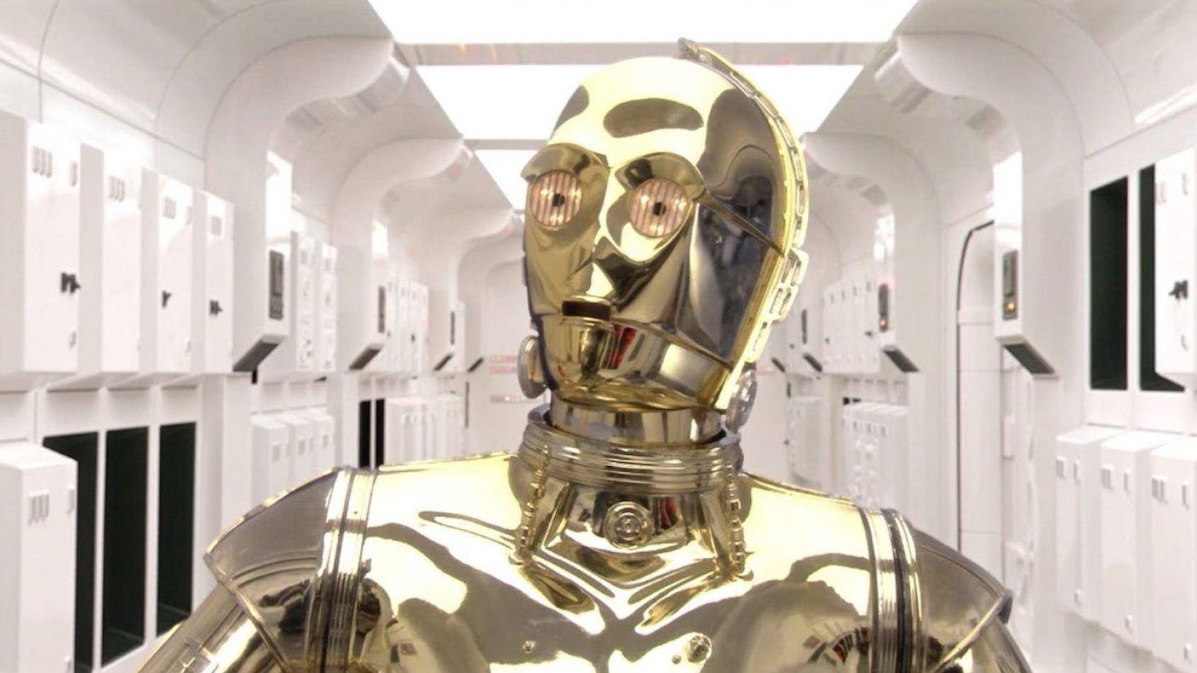 C3PO: un droïde en or !