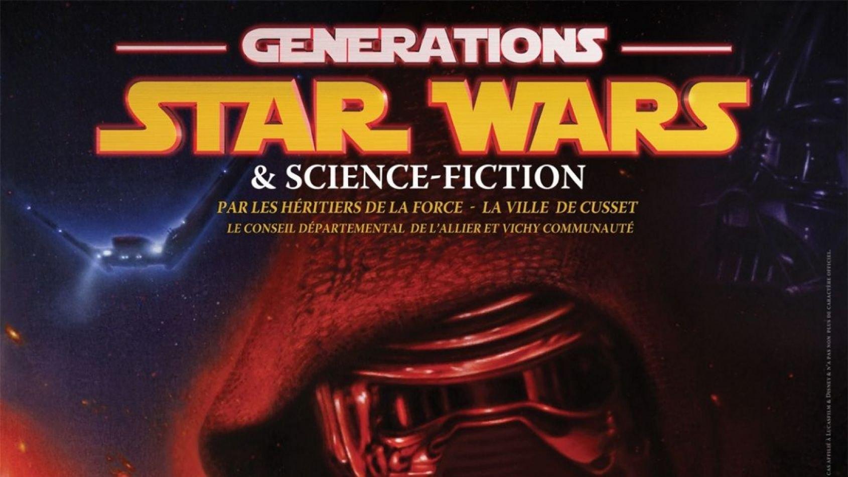 Découvrez l'affiche du salon Générations Star Wars 2017 !