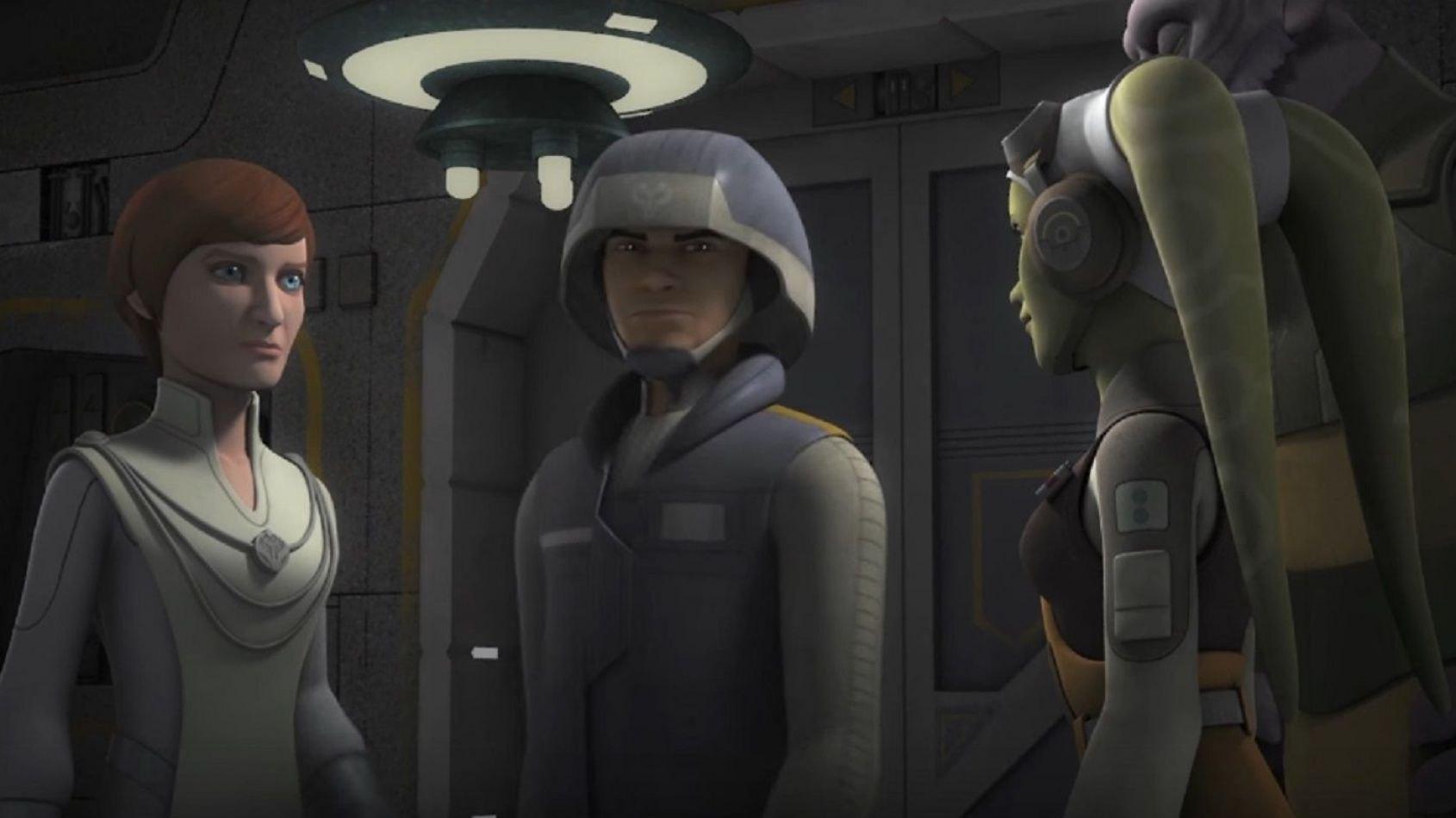 Star Wars Rebels: un extrait de l'épisode Le Cargo Secret