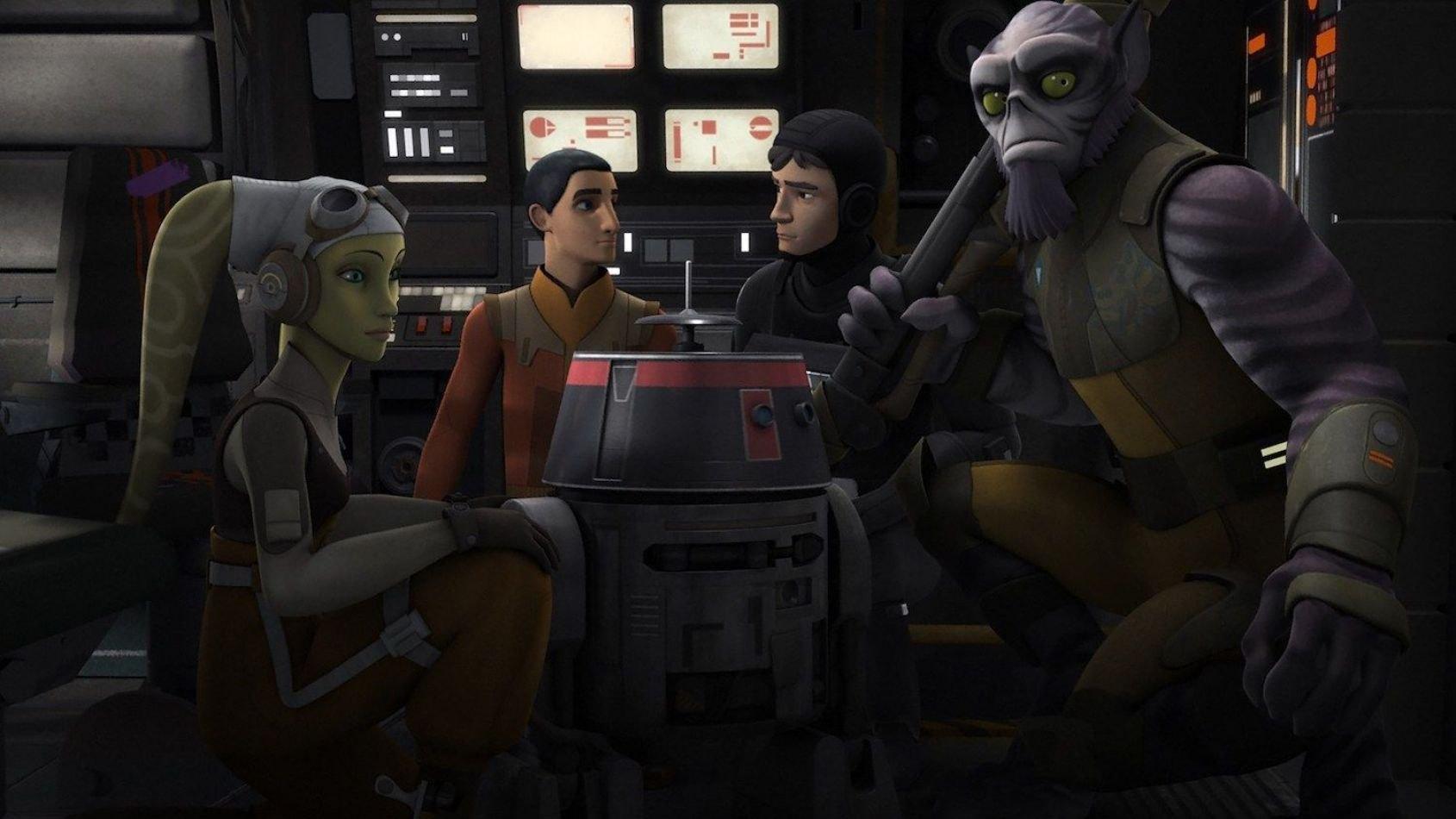 Rebels: extrait et images de l'épisode Le droïde agent double