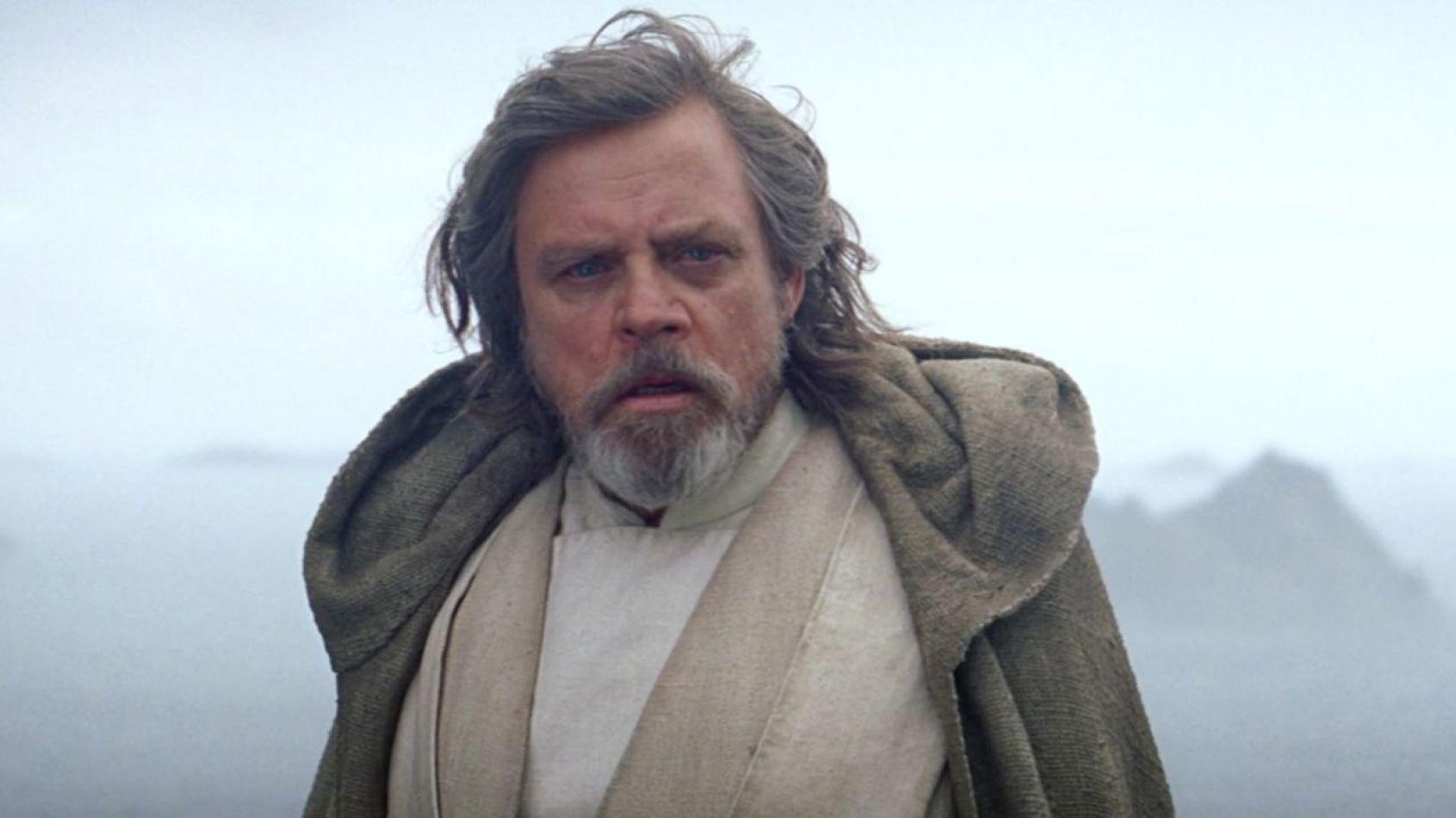 On connaît les premiers mots de Luke Skywalker dans Les Derniers Jedi