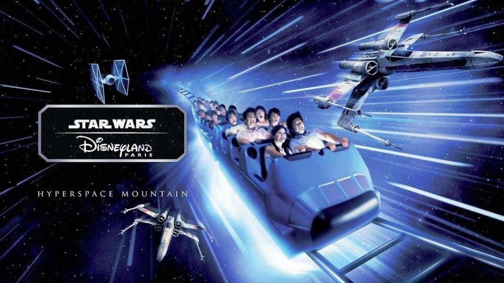 Soirées spéciales Star Wars pour l'ouverture du Hyperspace Mountain