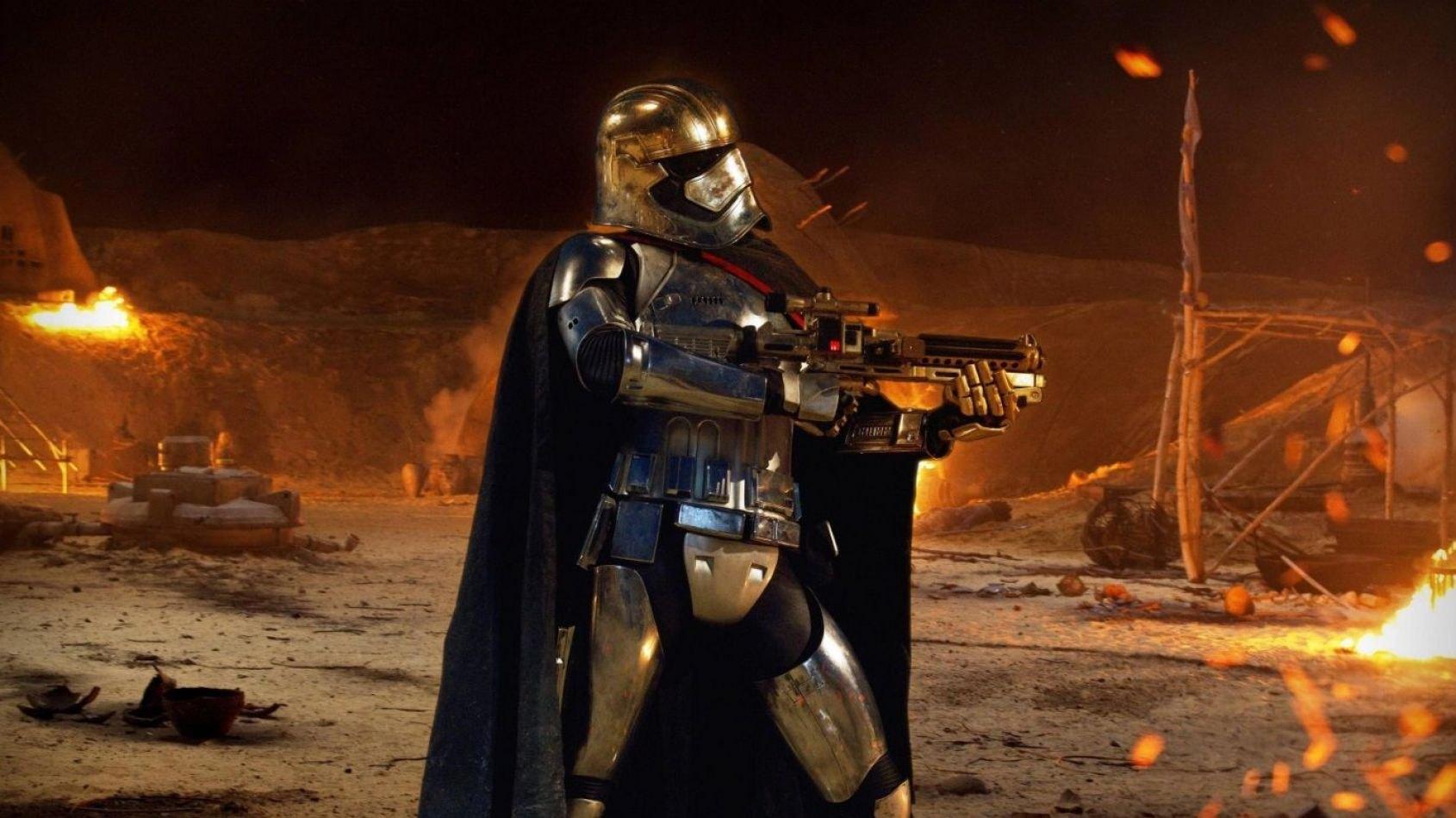 Une nouvelle arme pour la Capitaine Phasma dans Les Derniers Jedi ?