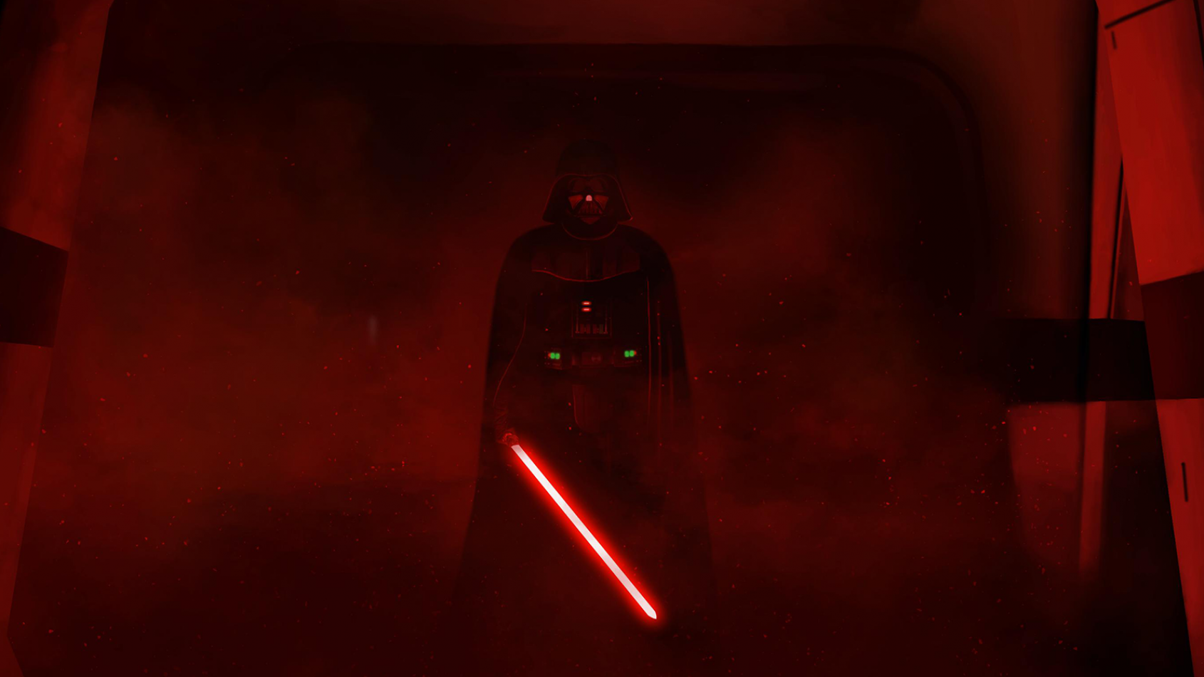 Détails sur l'iconique scène de Dark Vador dans Rogue One