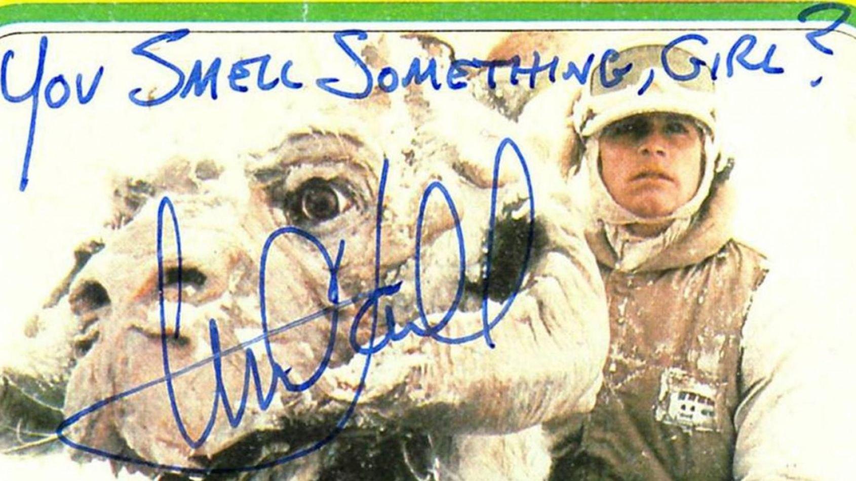 Autographes de Mark Hamill et Anthony Daniels