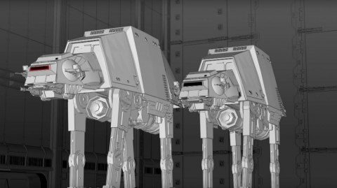 Deux AT-ATs taille réelle seront construits à Disneyland Resort