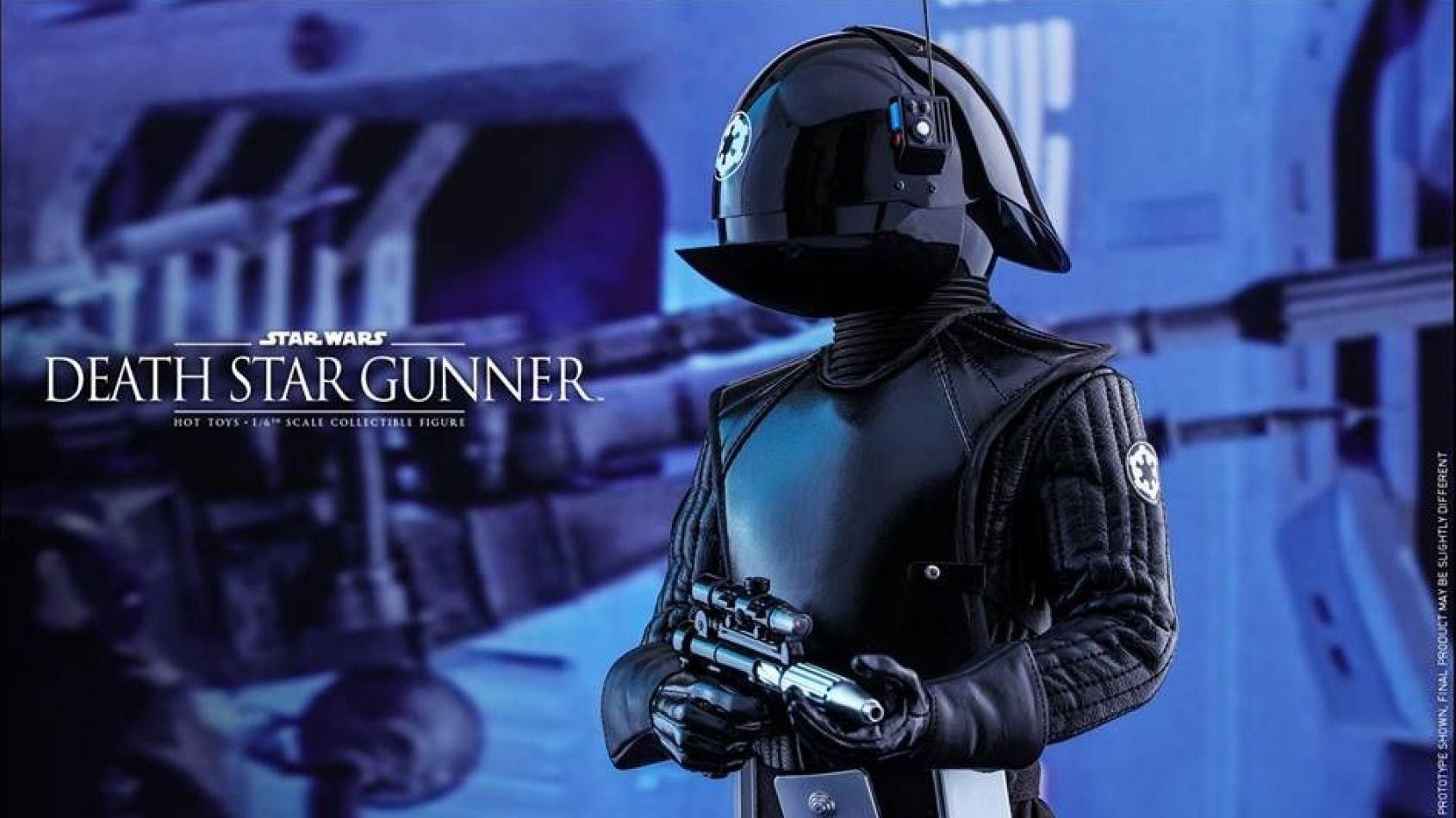 Hot Toys dévoile son Death Star Gunner 12 pouces