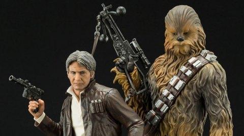 Kotobukiya ARTFX: Han Solo et Chewbacca