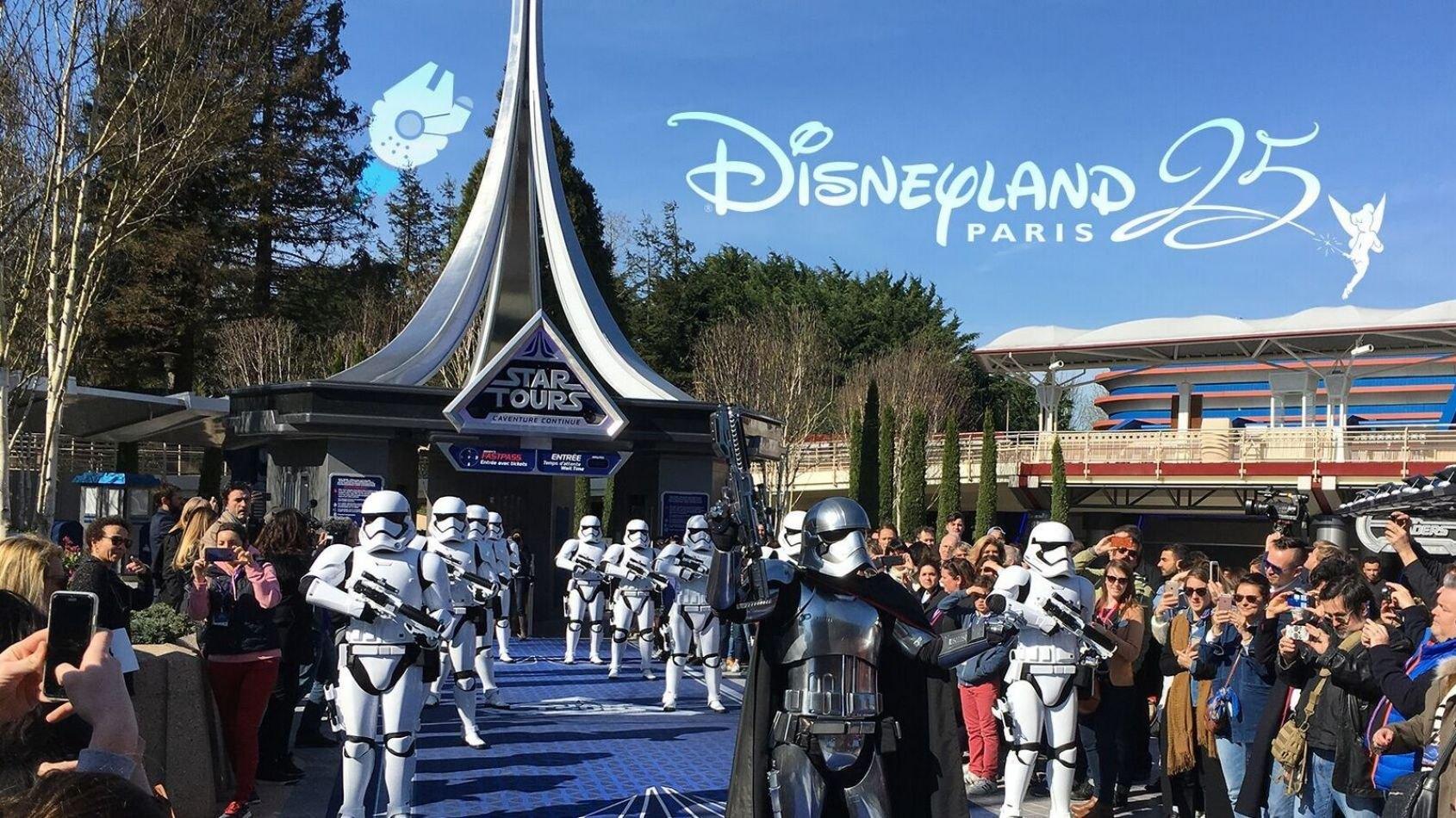 Reportage sur Star Tours 2 au 25ème anniversaire de Disneyland Paris !