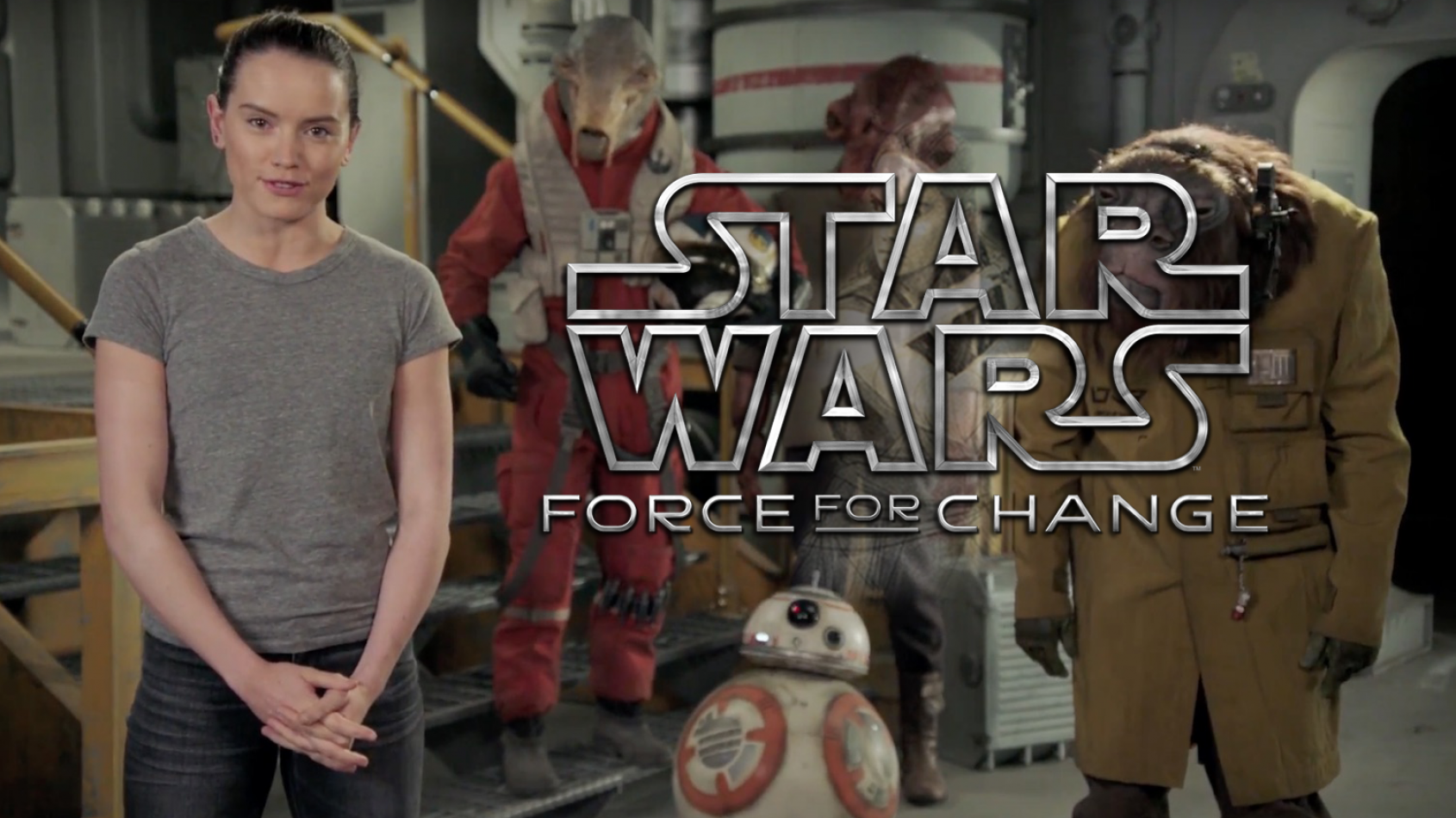 Un nouveau visuel pour Rey grâce à l'initiative Force for Change