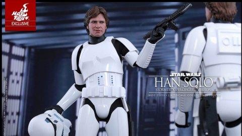 Hot Toys dévoile sa figurine de Han Solo en Stormtrooper