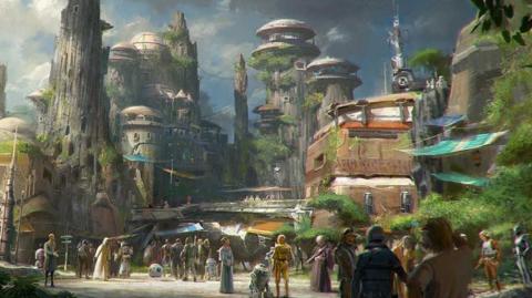 Un billet à part pour visiter Star Wars Land à l'ouverture?