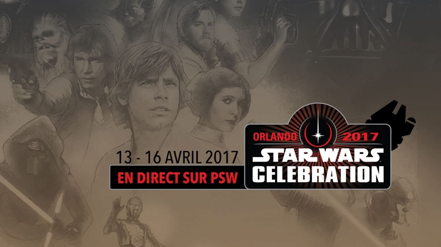 Planète Star Wars sera en direct de Celebration Orlando !