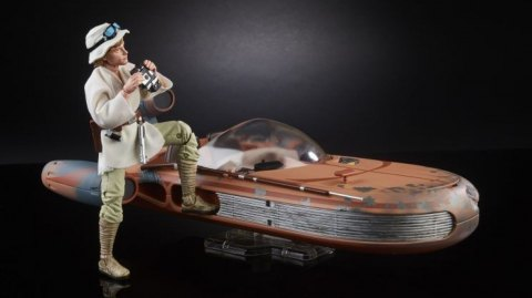 Le Landspeeder de Luke Skywalker arrive en Black Series chez Hasbro