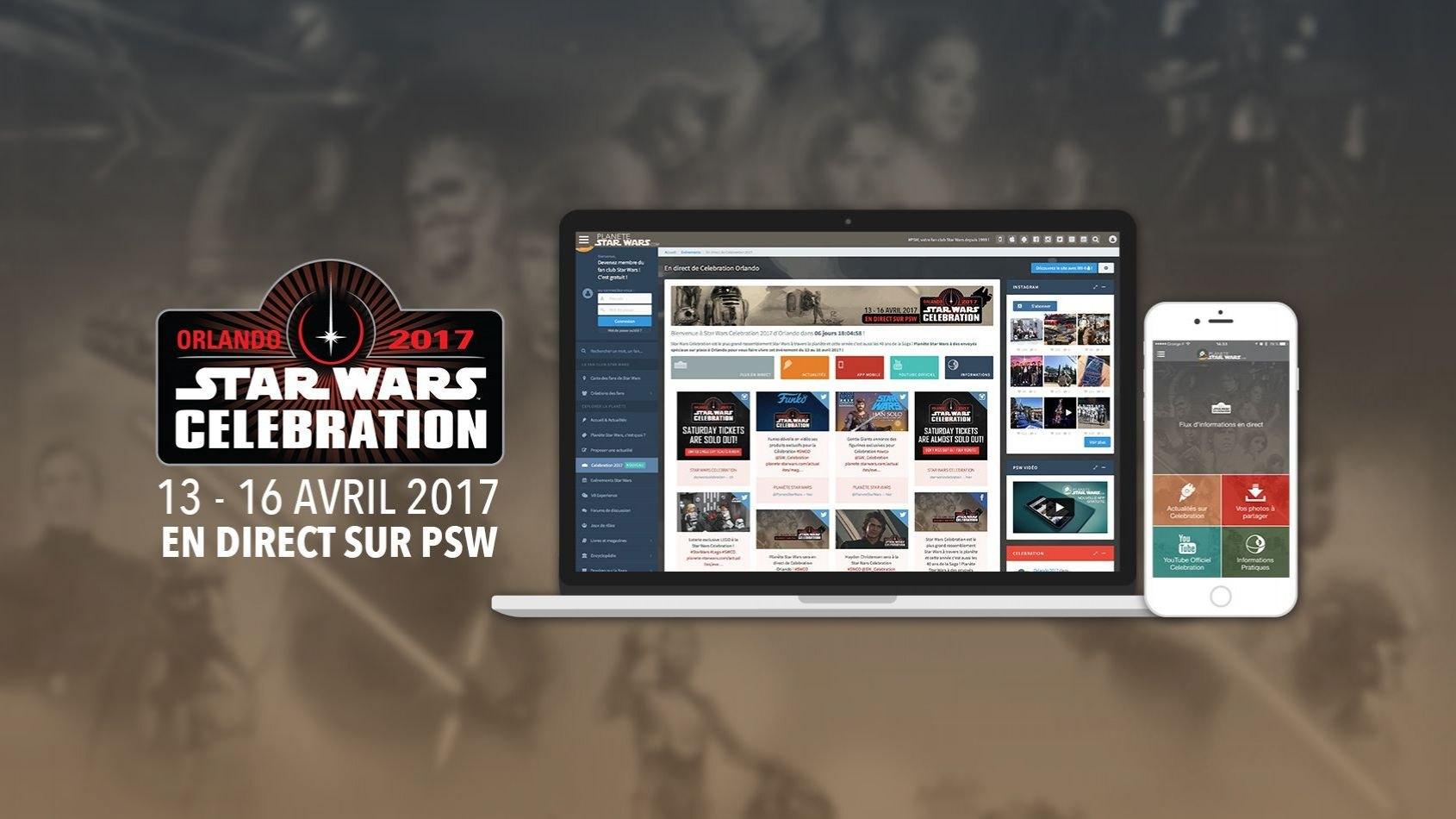 Star Wars Celebration Orlando sur Planète Star Wars