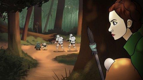 Celebration : Une mini série animée avec les héroïnes de Star Wars