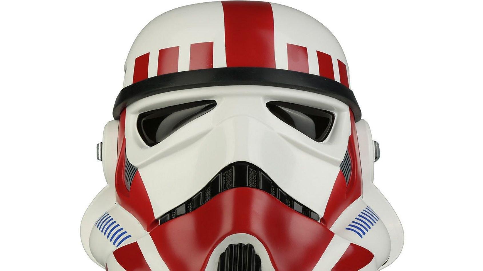 Celebration : Un casque de Shock Trooper chez Anovos