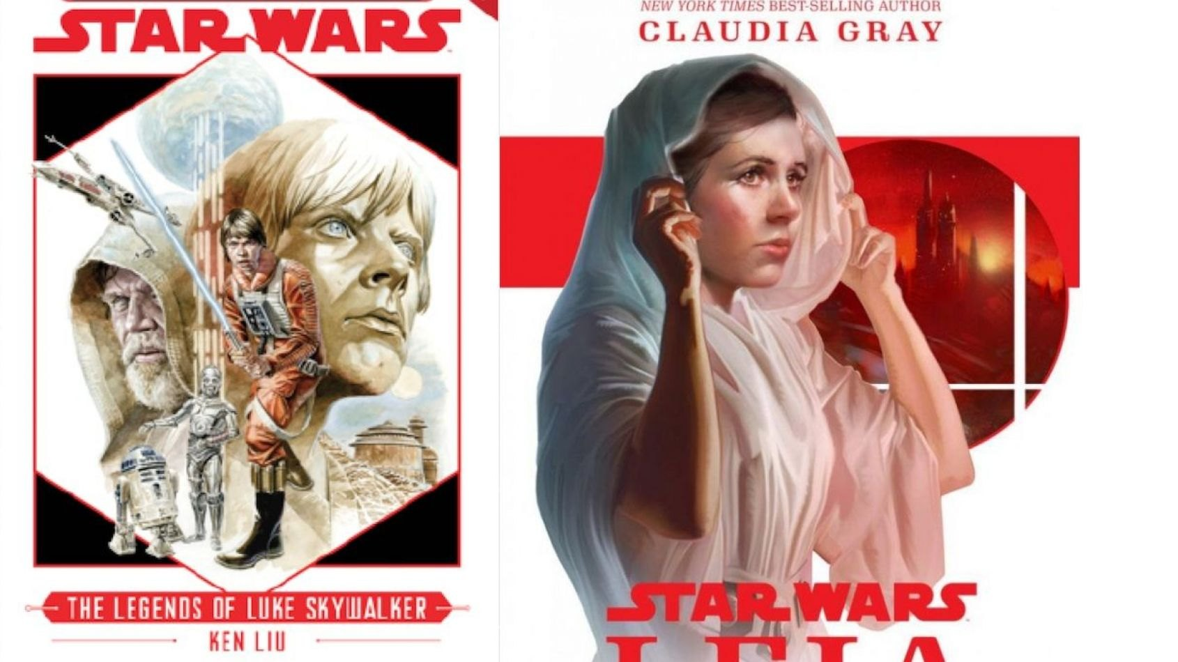 Celebration : Des romans Young Adult pour Luke et Leia