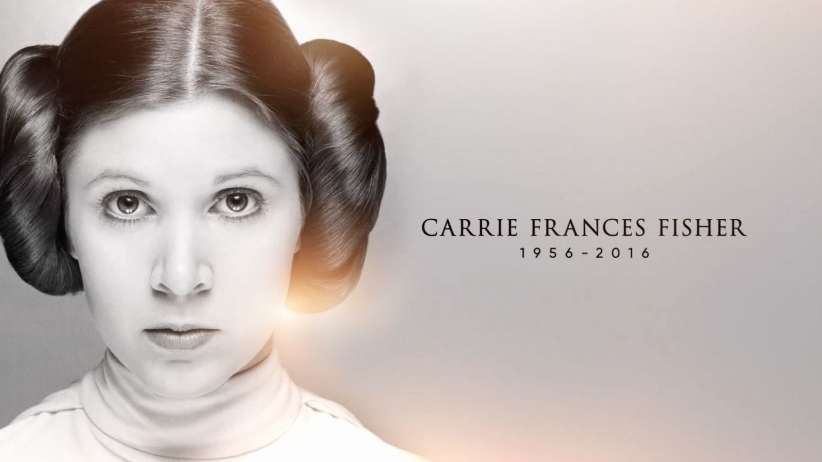 Celebration : Vidéo hommage à Carrie Fisher