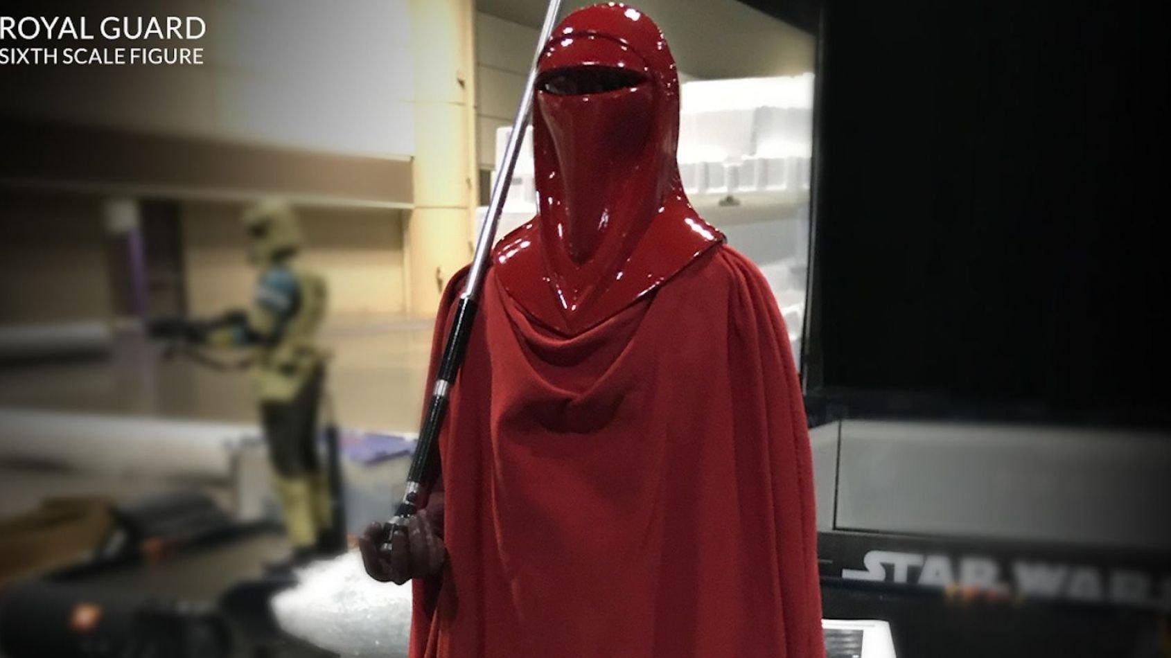 Hot Toys : un garde royal Impérial à l'échelle 1/6ème
