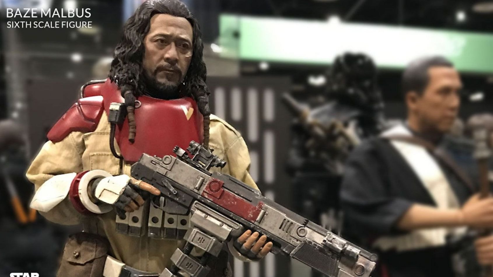 Hot Toys: la figurine de Baze Malbus de Rogue One