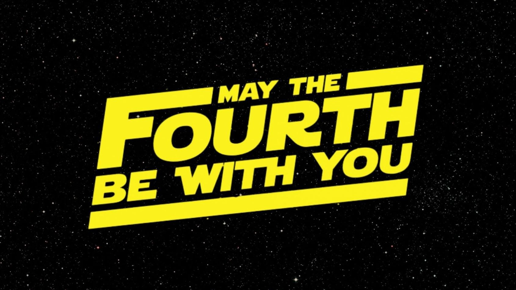 May the 4th, c'est bientôt !
