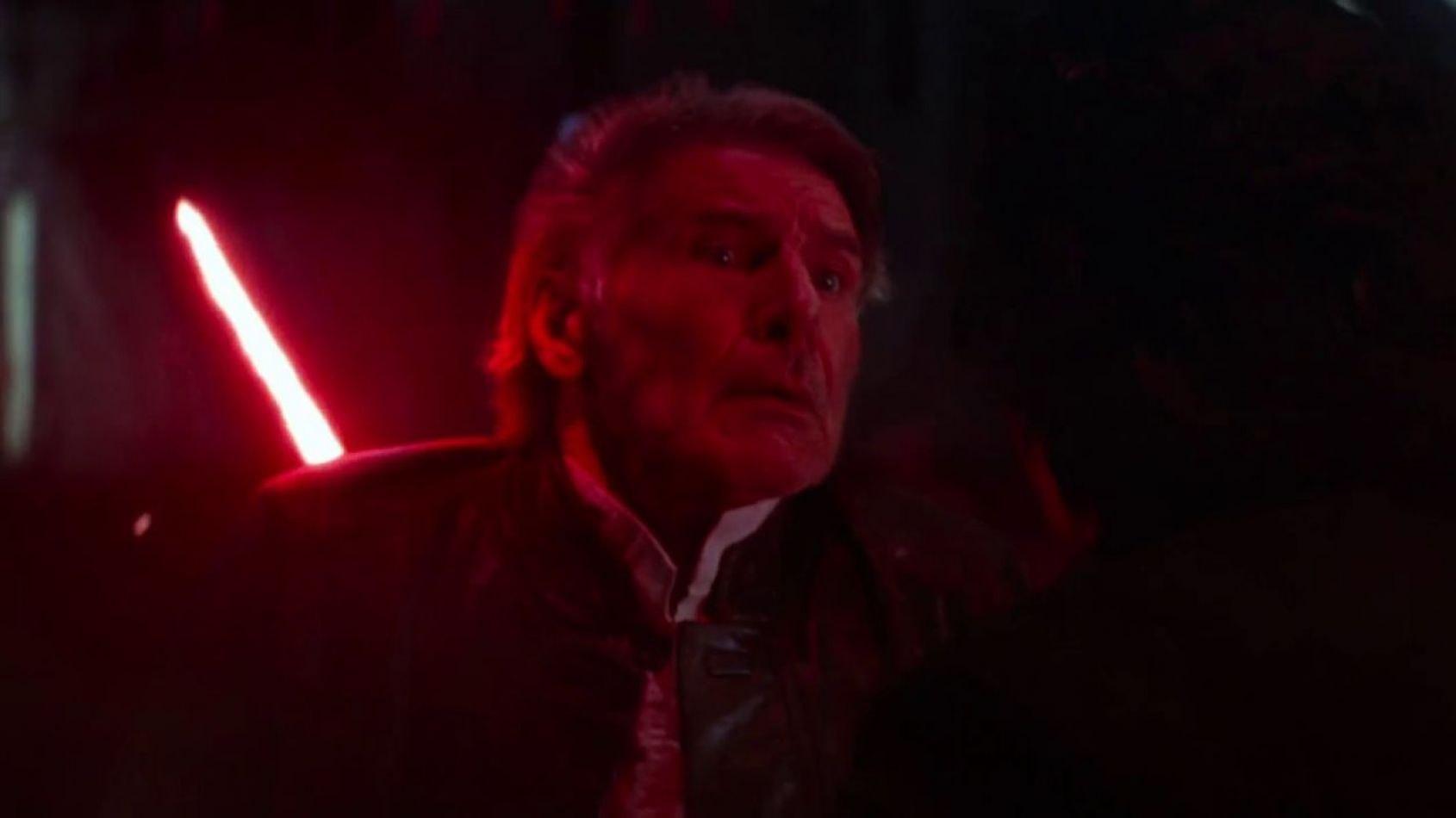 Mark Hamill aurait voulu que Luke assiste à la mort de Han Solo !