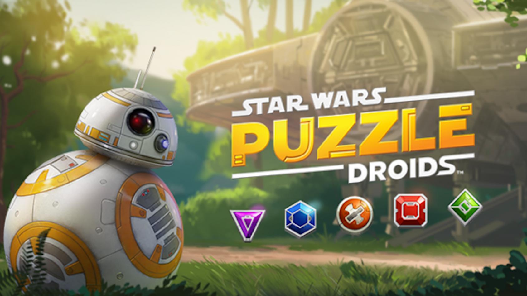 Puzzle Droids: le nouveau jeu mobile Star Wars