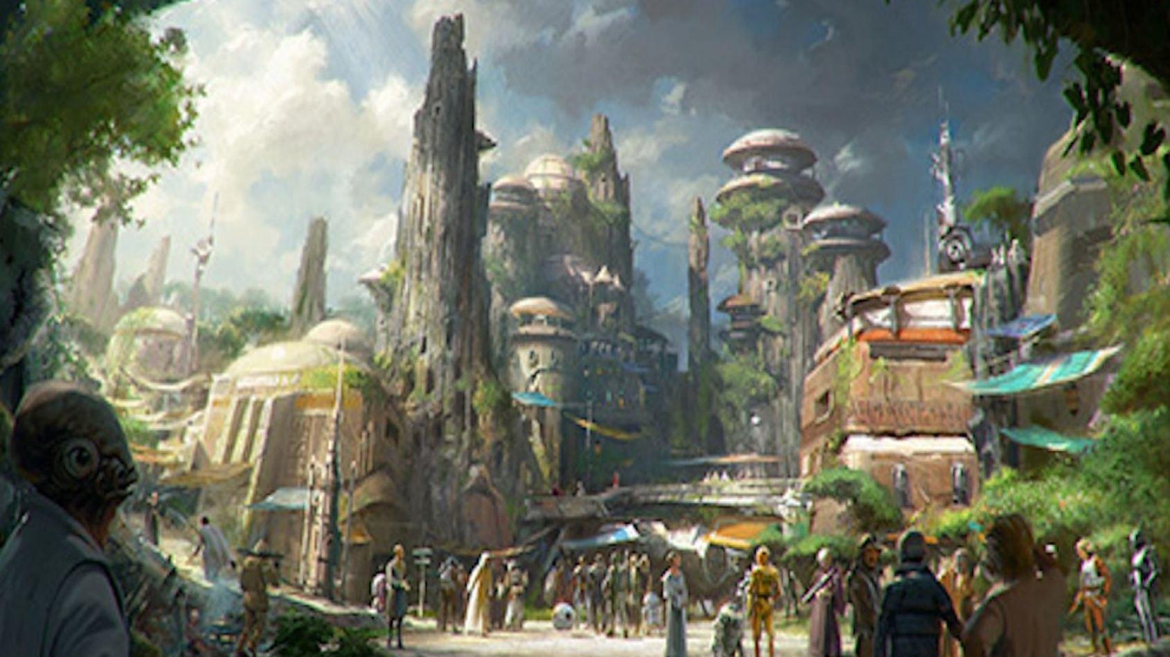 Un hôtel-expérience immersif Star Wars à Disney World?