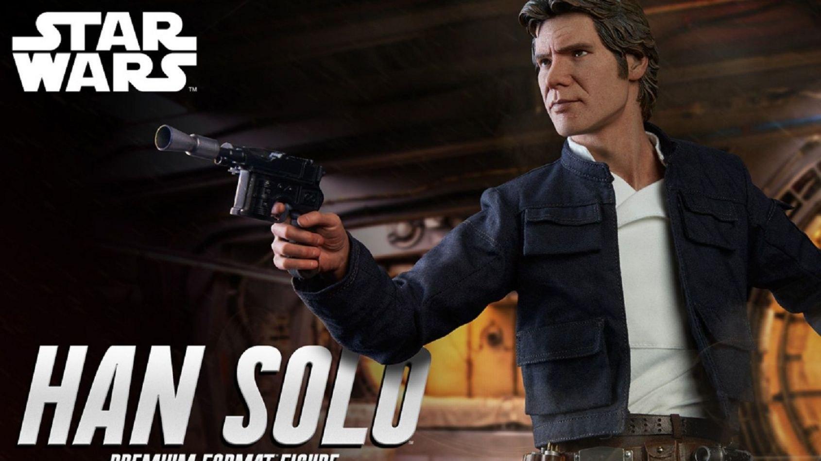 Sideshow: Han Solo de l'Empire Contre-Attaque en Format Premium