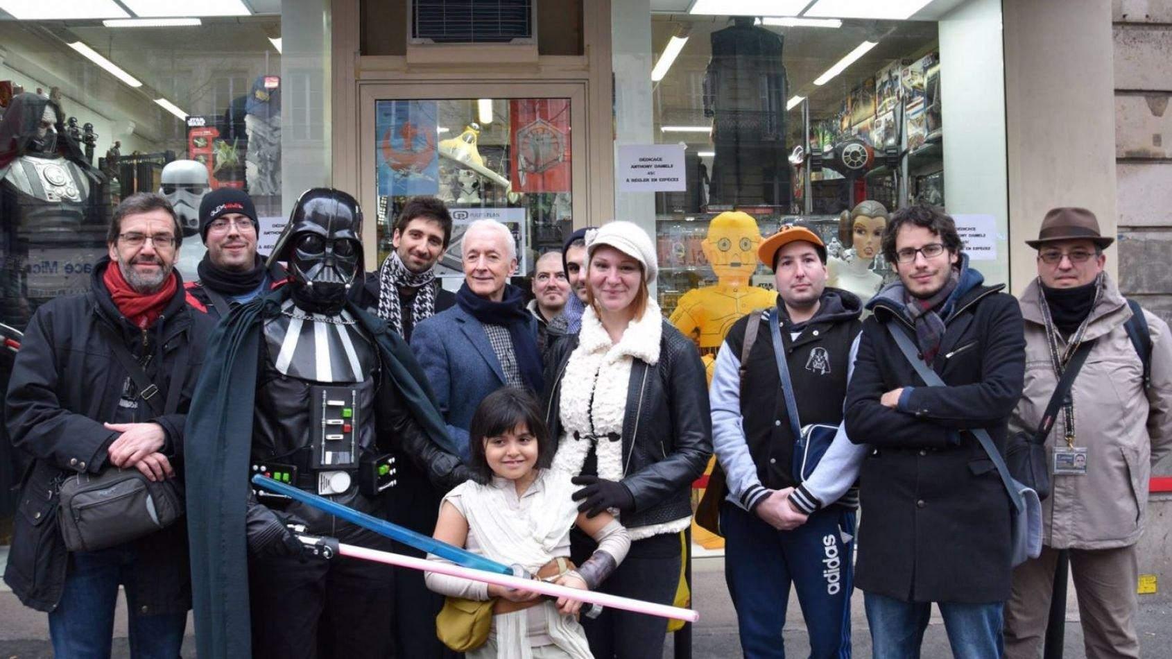 Une sortie Planète Star Wars pour la venue de Paul Kasey
