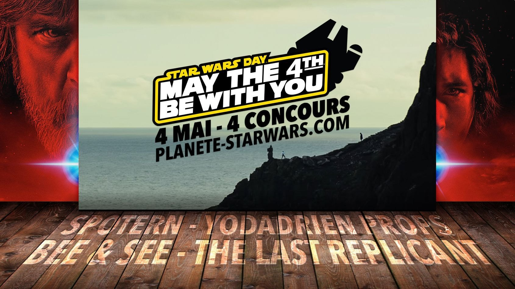 Star Wars Day, tenez-vous prêts ! 4 Mai - 4 concours sur PSW !