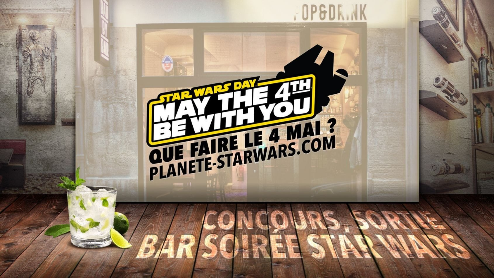 Que faire le 4 Mai pour le Star Wars day ?