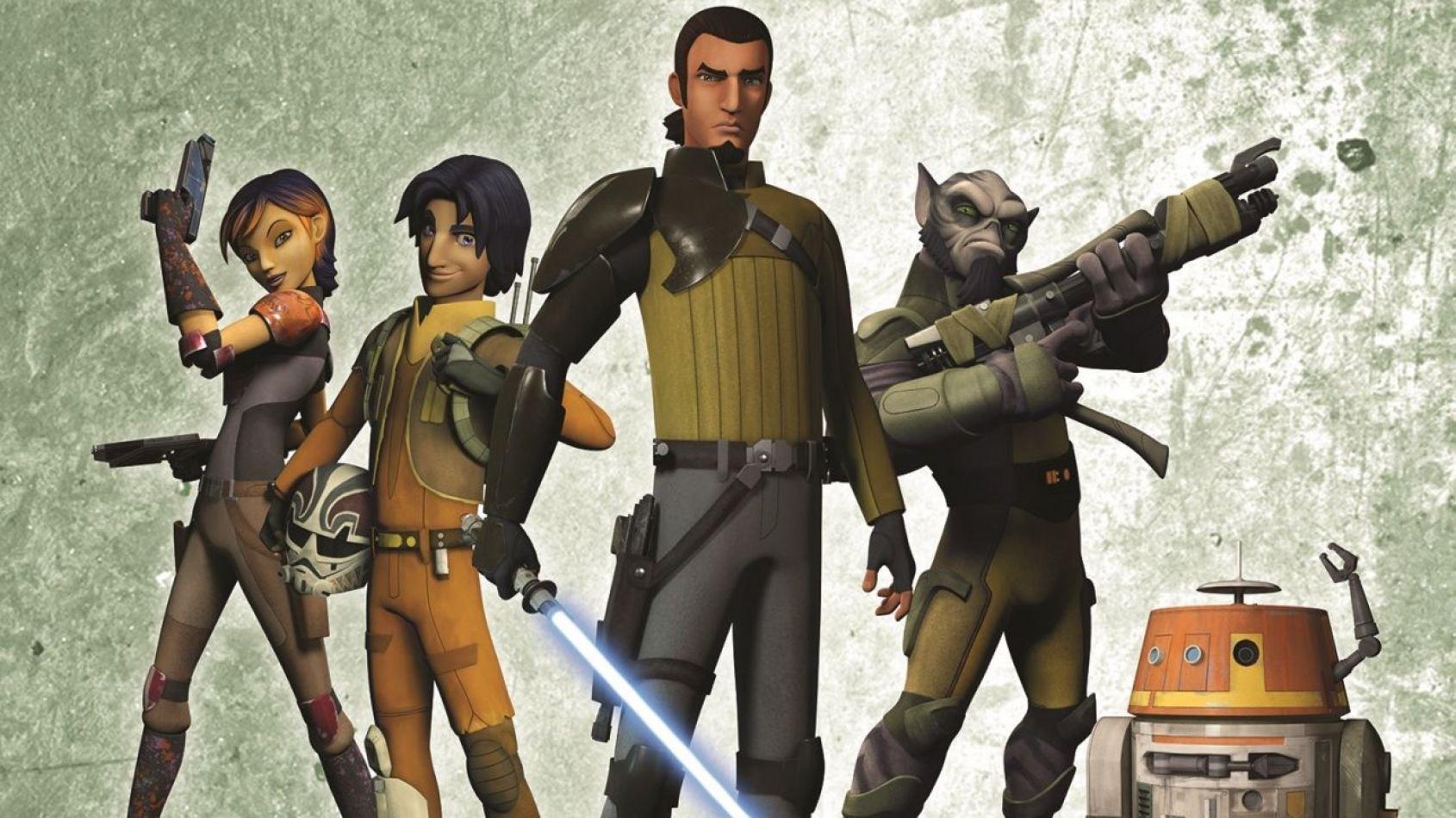 Delcourt : Sortie de l'album Star Wars Rebels 6