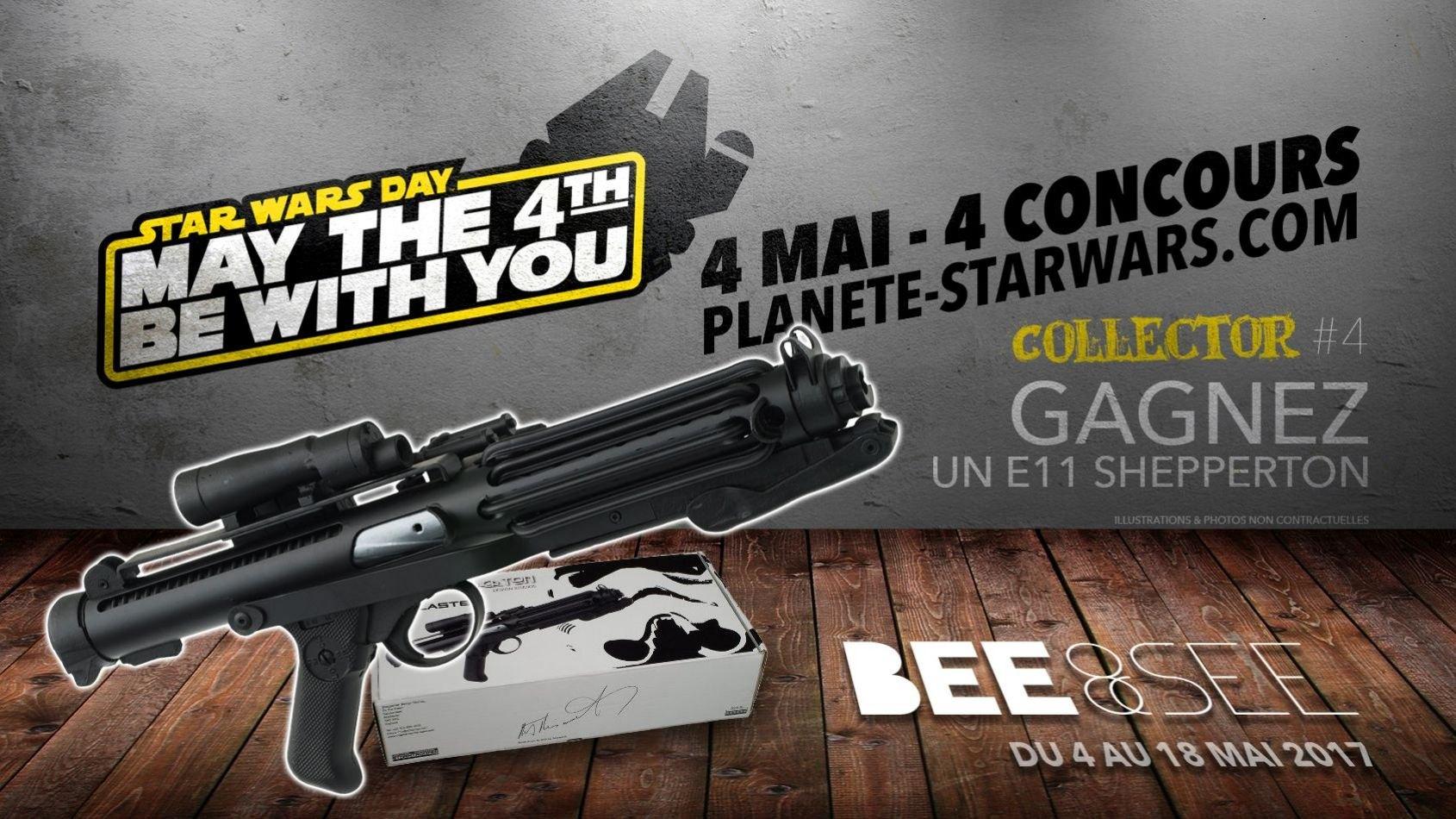 4 Mai 4 Concours #4 - COLLECTOR - Gagnez un blaster de Stormtrooper !