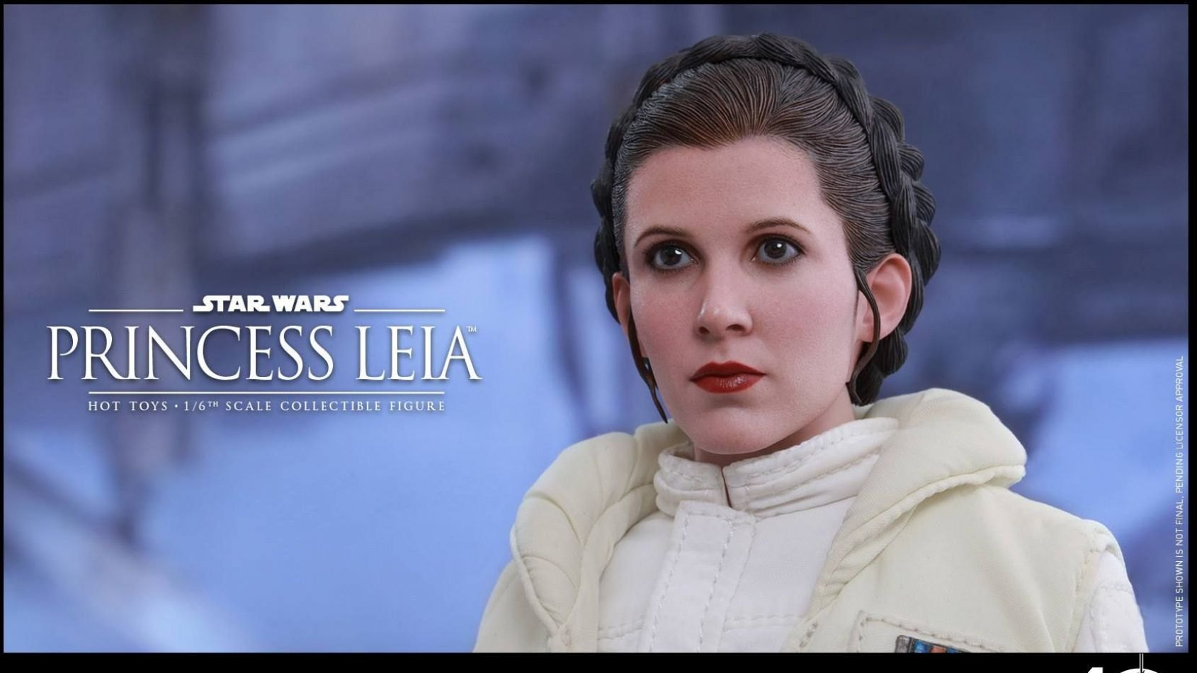 Hot Toys: Leia Organa version L'Empire Contre-Attaque