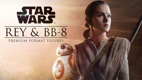 Sideshow: vidéo de Rey et BB8 en Format Premium