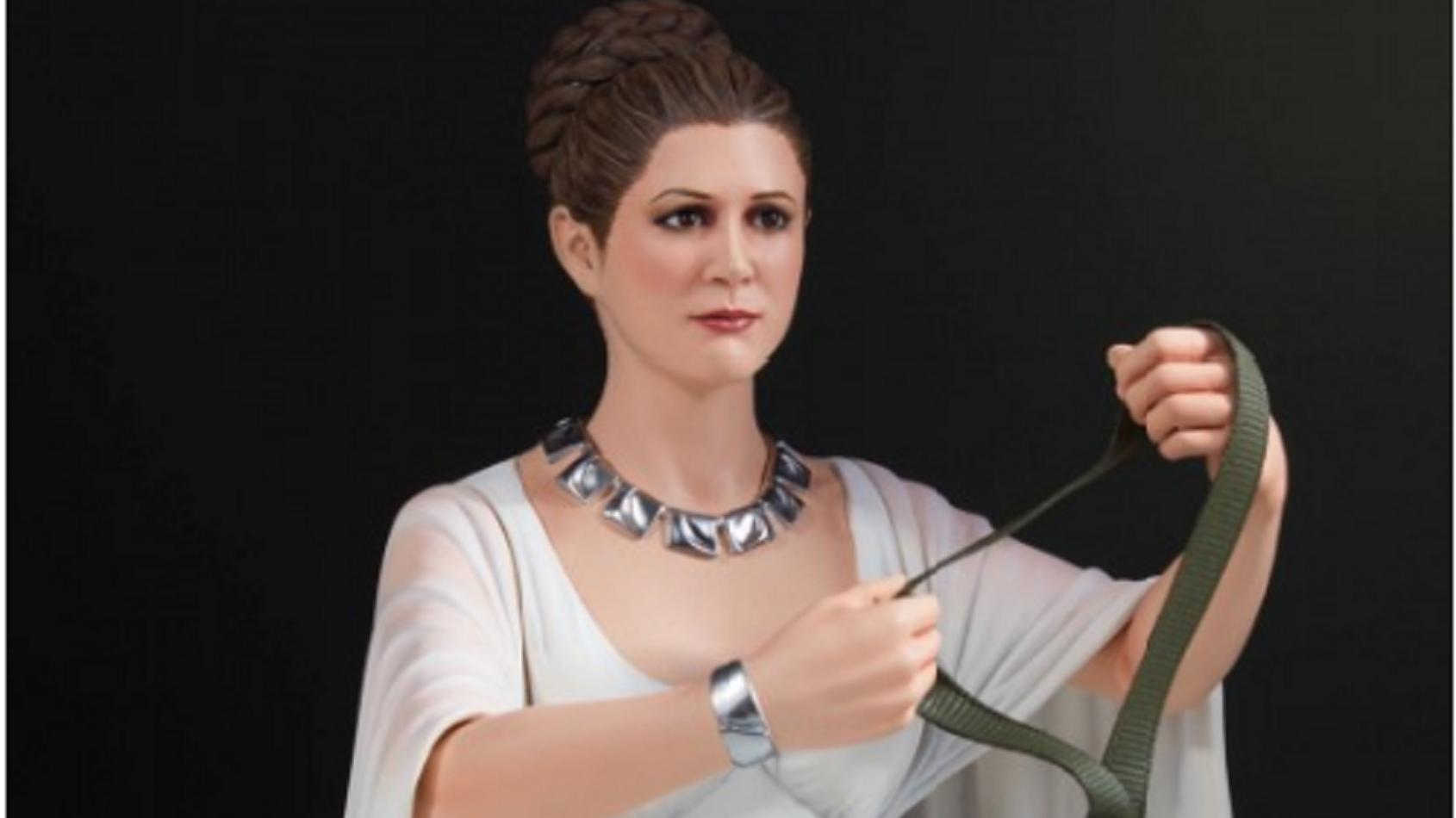 Gentle Giant : Un mini buste pour la Princesse Leia