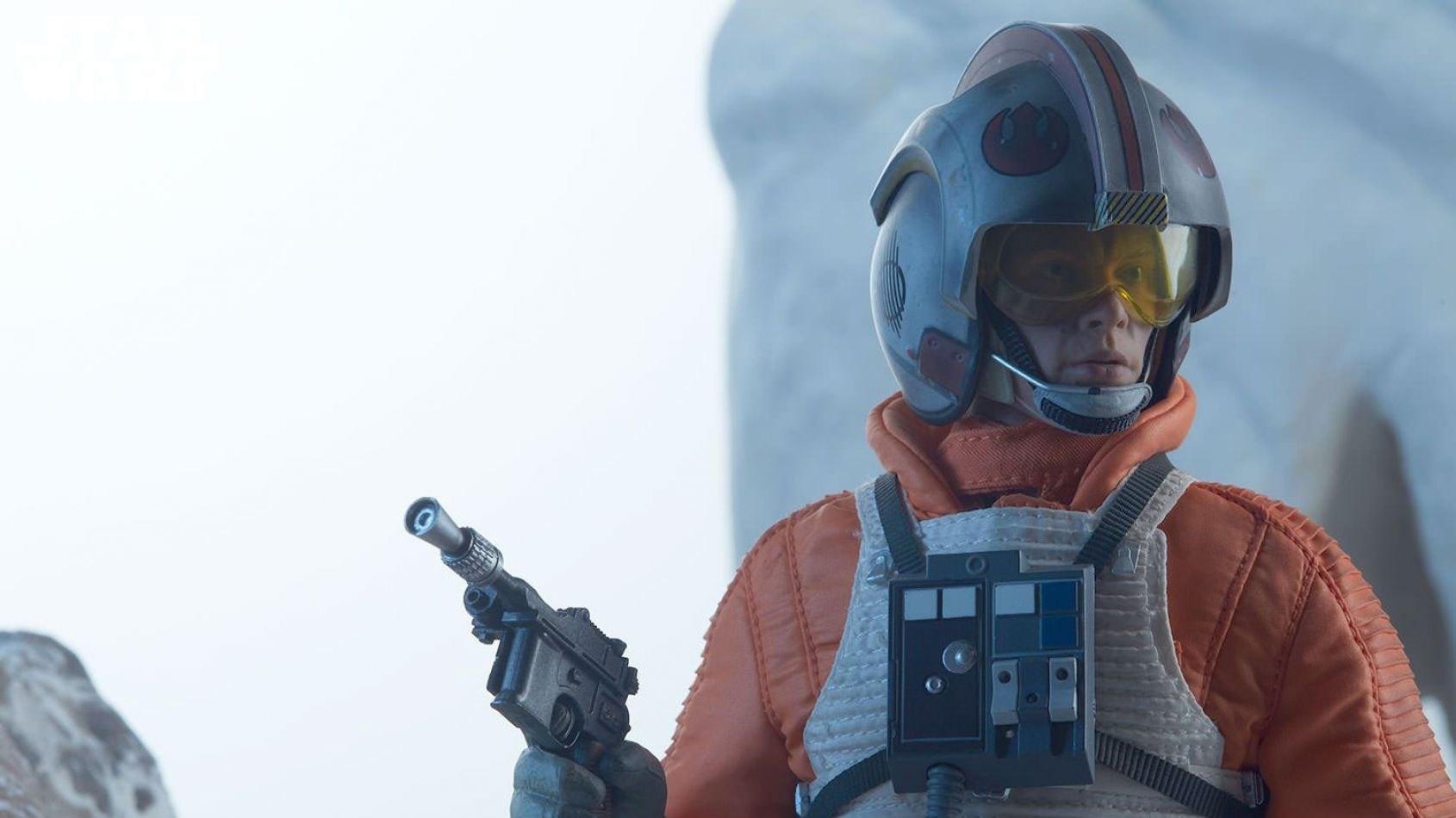 Sideshow : Luke Skywalker en version pilote de snowspeeder
