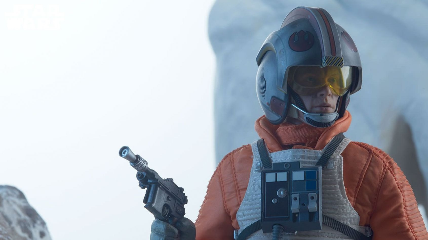 Sideshow : Luke Skywalker en version pilote de snowspeeder