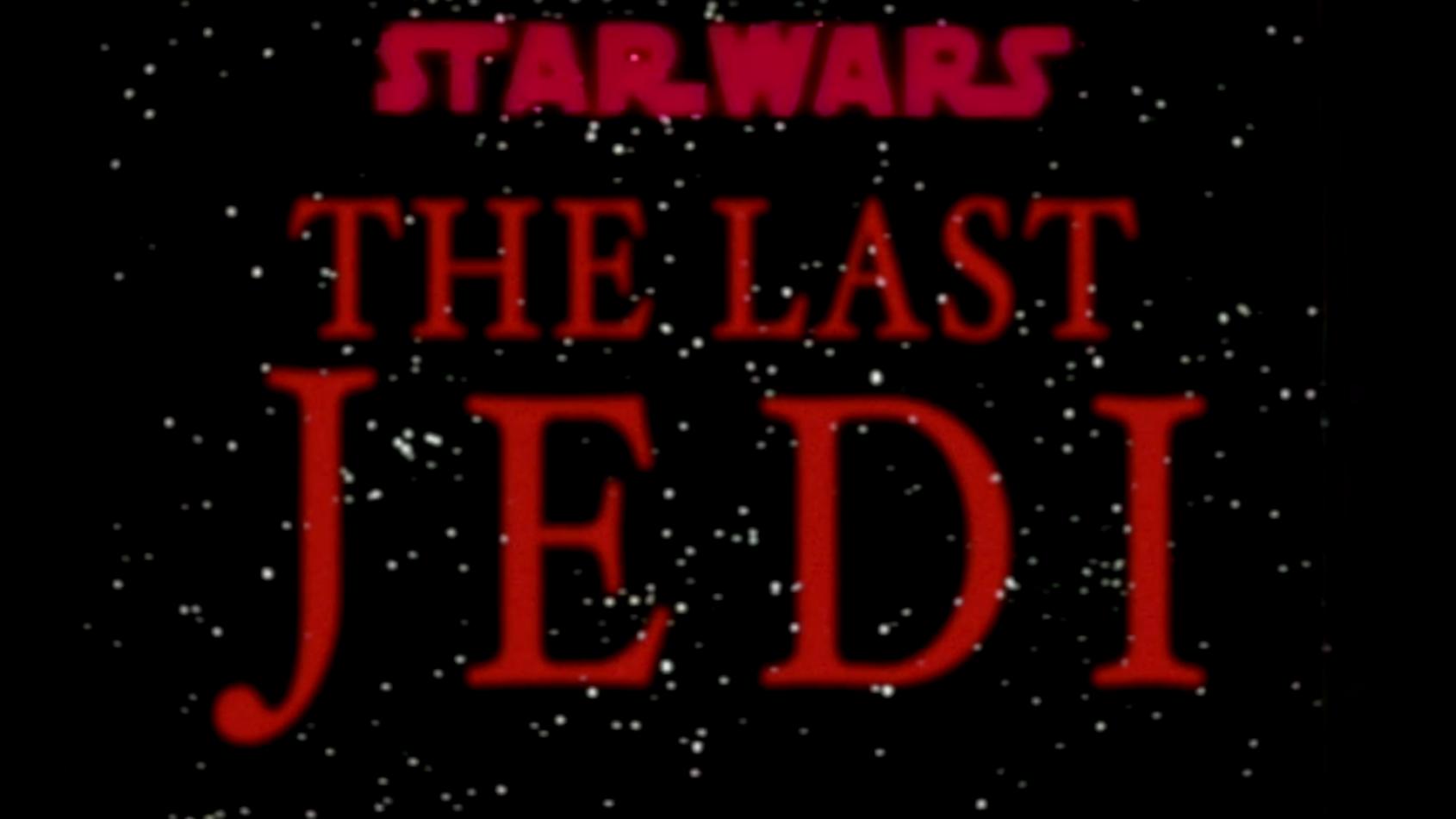 Et si le trailer des 'Derniers Jedi' était sorti en 1983 ?