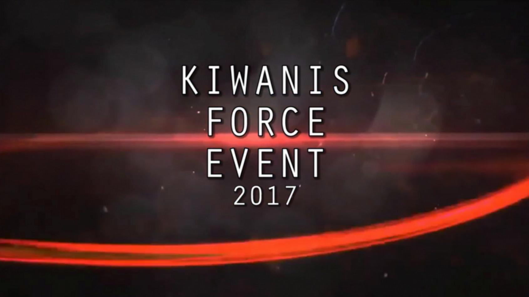 Une sortie PSW au Kiwanis Force Event !