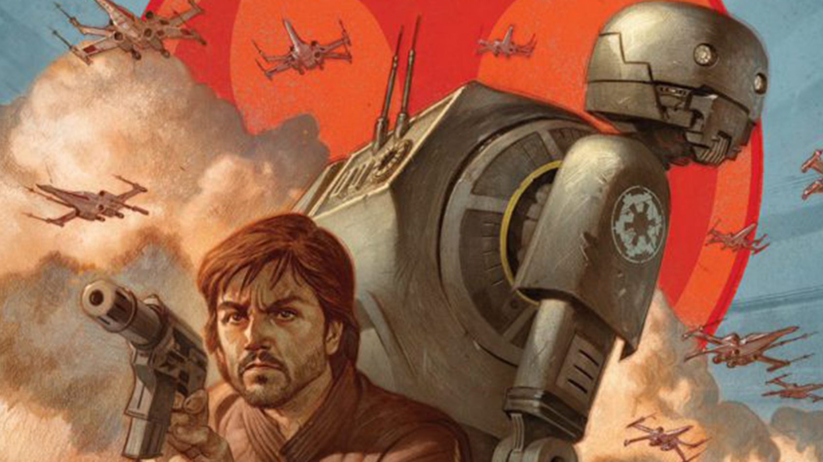 Un comic prologue 'Rogue One' sur Cassian & K-2SO