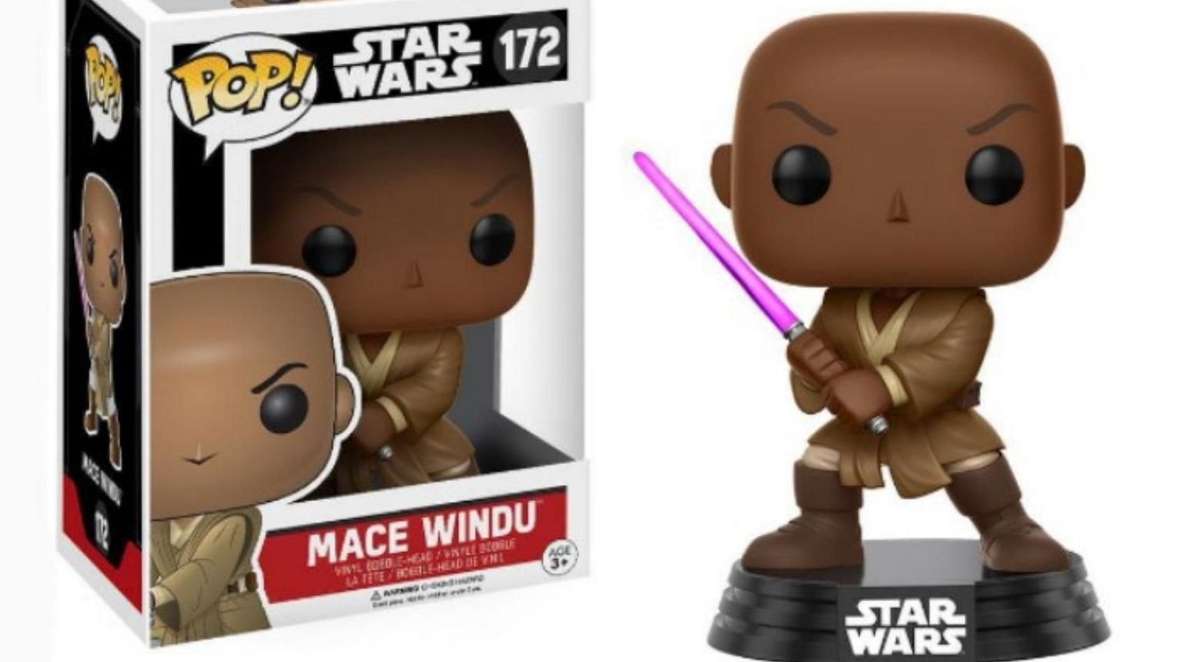 Une Funko Pop exclusive de Mace Windu au Comic Con de Londres