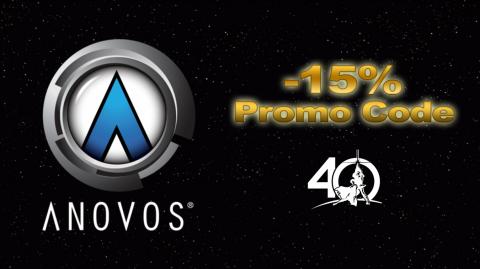 ANOVOS : -15% sur tout les produits Star Wars !