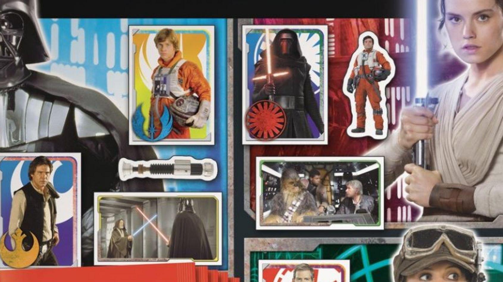 Topps : la Universe Sticker Collection pour les 40 ans !