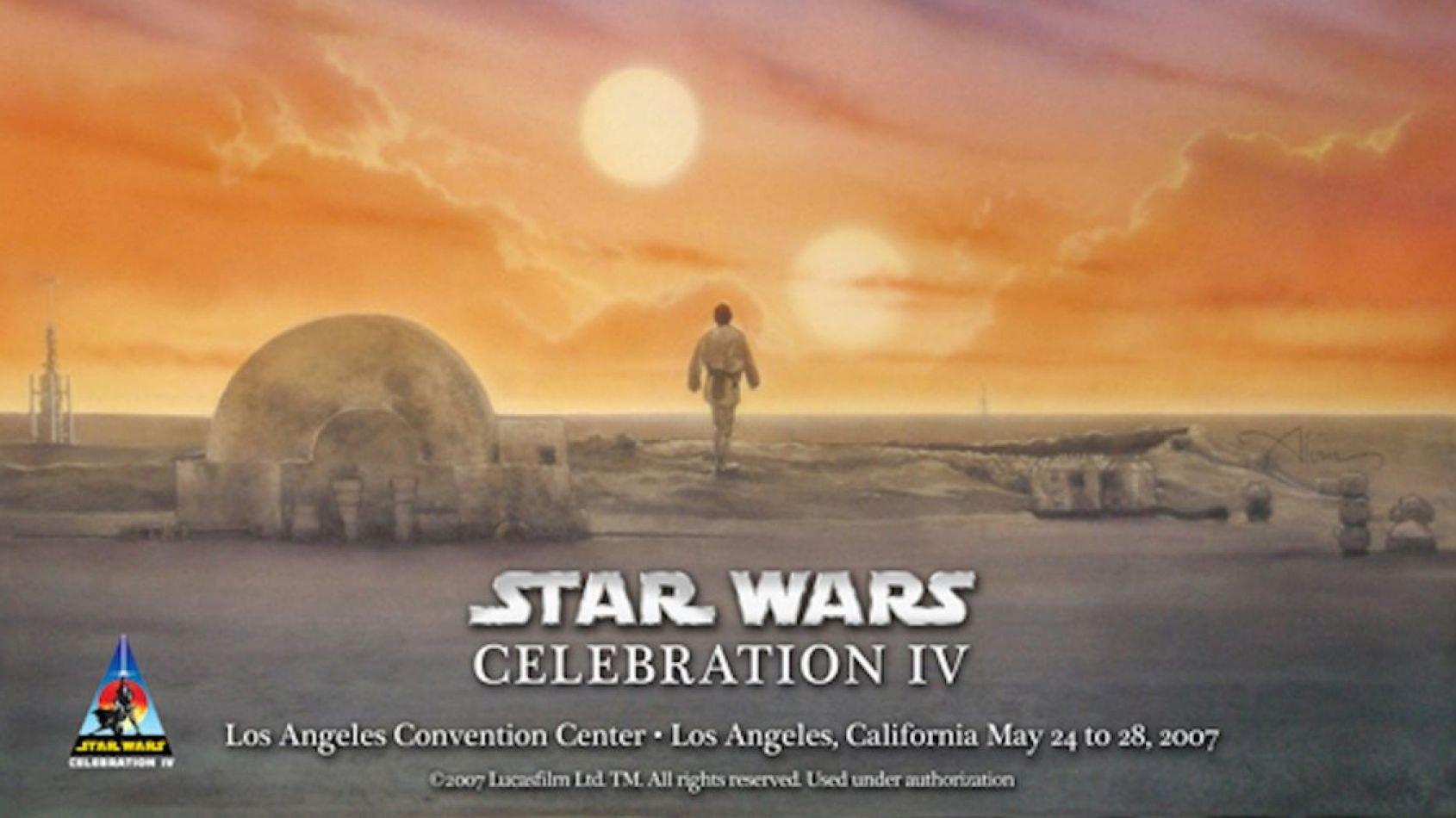 Retour sur 40 ans de posters d'anniversaire Star Wars