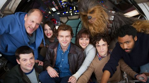 Nouvelle vidéo du tournage anglais de Han Solo