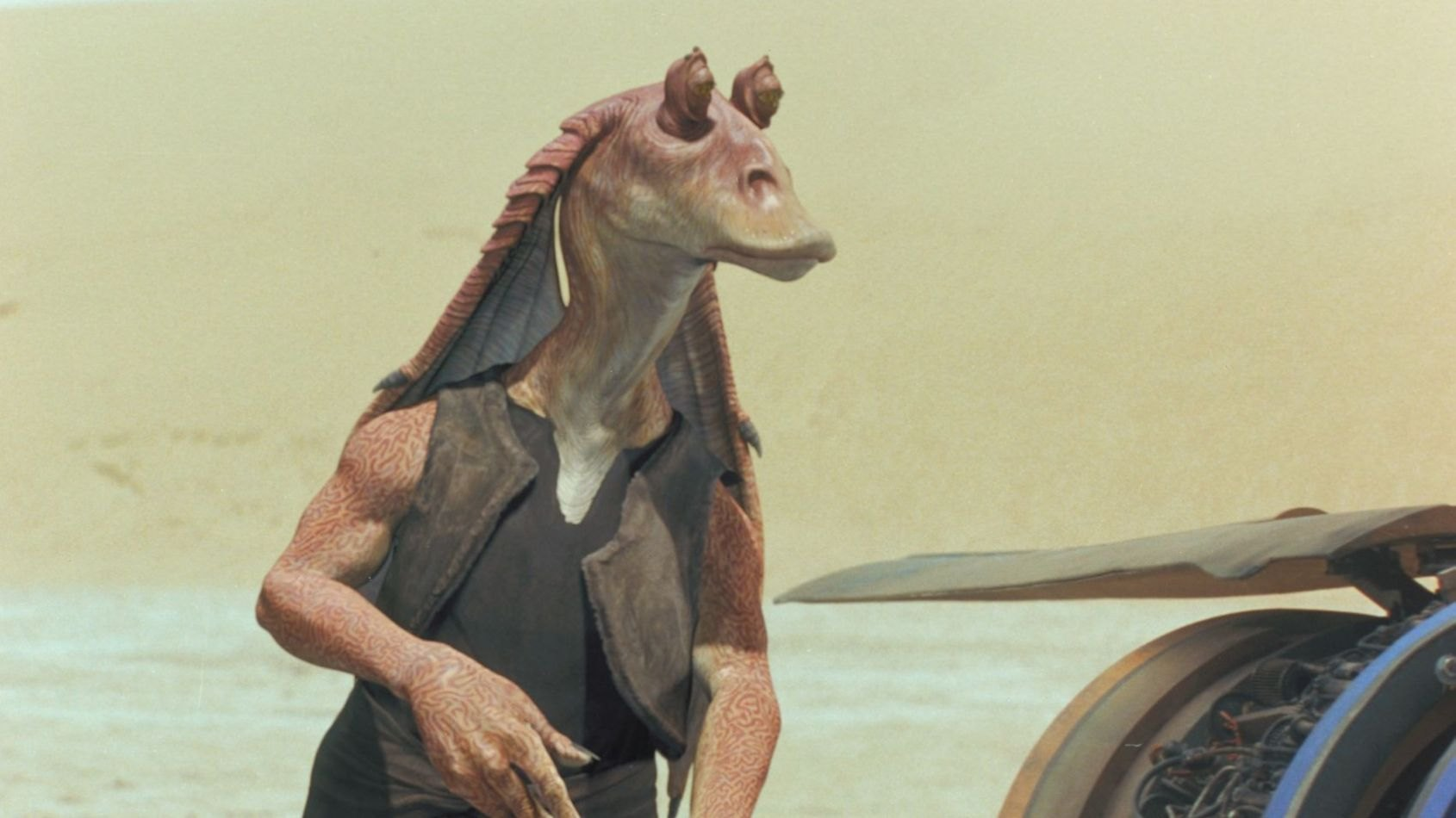 Ahmed Best, l'acteur de Jar Jar Binks en séance de dédicaces !