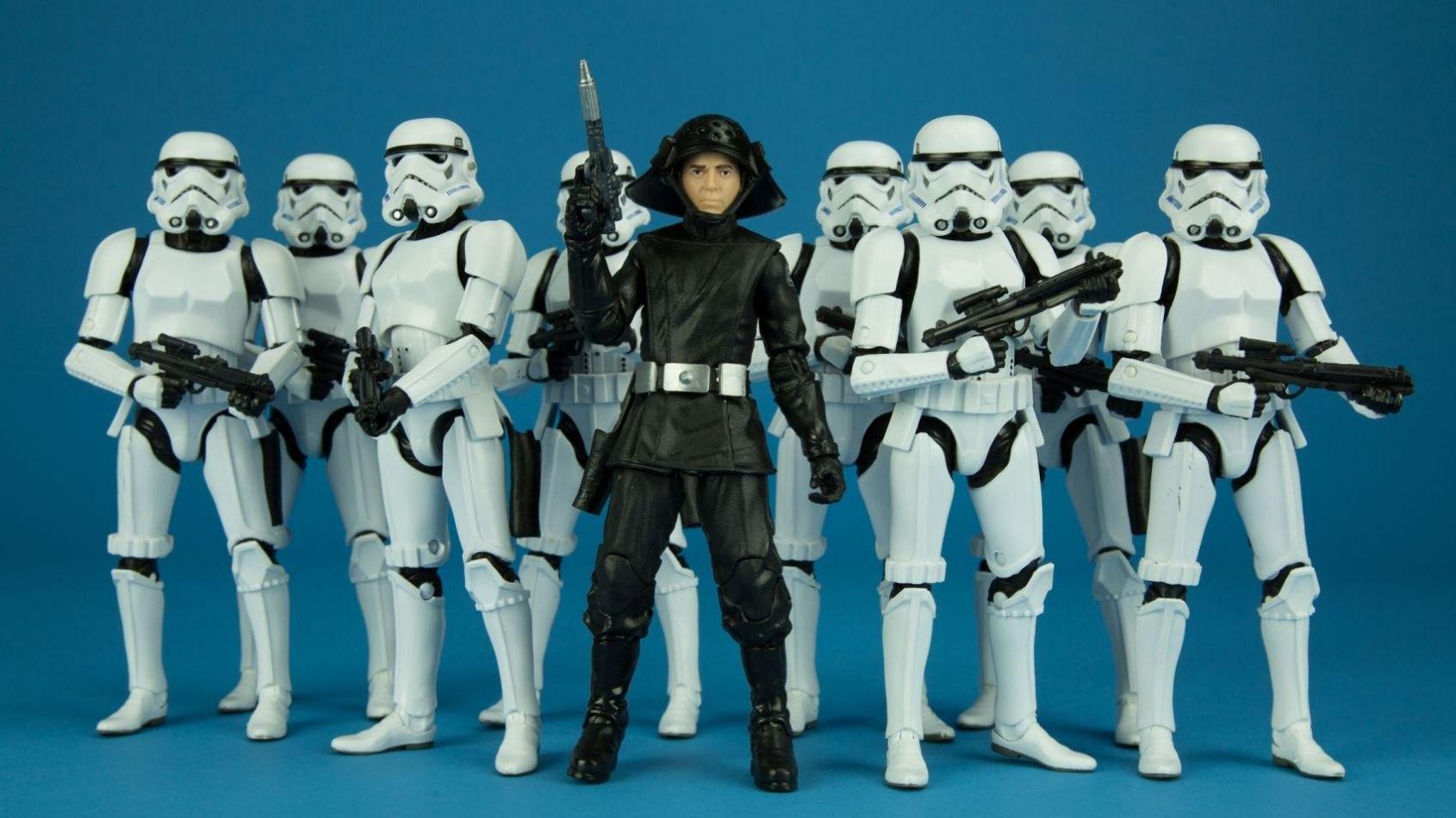 Sortie du Death Squad Commander chez Hasbro